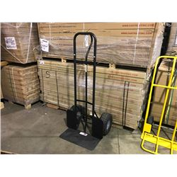 "BLACK  26"" WIDE COMMERCIAL GRADE DOLLY WITH HEAVY DUTY TIRES"