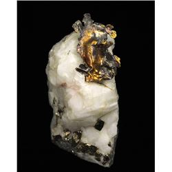 Gold in Quartz from Nevada County, California