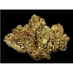 Crystallized Gold from Round Mountain Mine, Nye Co., Nevada