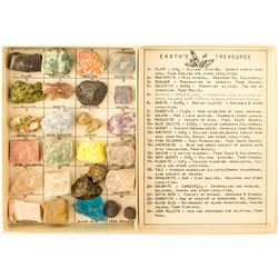 Earth's Treasure Vintage Mineral Kit