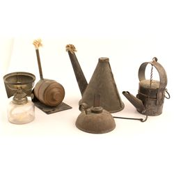 5 Different Oil Wick Lamps
