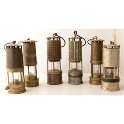 6 Safety Lamps