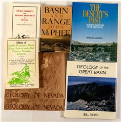 7 Nevada Geology Books