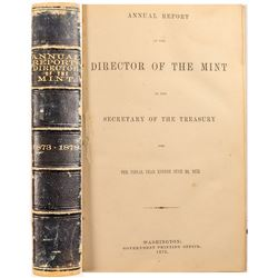Report Director of the Mint 1873-1878