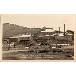 Bodie Standard Mining Co. Mill Real Photo Postcard