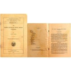 The Darwin Silver-Lead Mining District (CA), U.S.G.S. 1914, Adolph Knopf