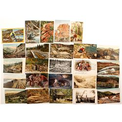 California Mining Postcards