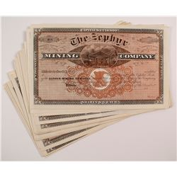 The Zephyr Mining Company Stock Certificate Collection