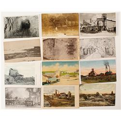 Kansas Mining Postcard Set with RPC's