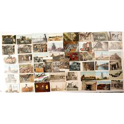 Michigan Mining Postcard Collection with RPC and Copper Foil