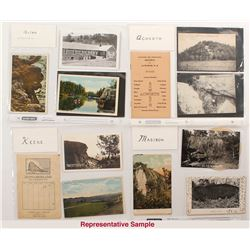 Large New Hampshire Mines and Mining Postcard Collection