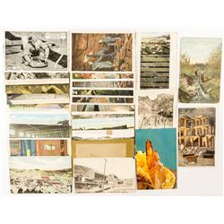 South Dakota Mining Postcards with RPC's