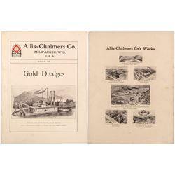Turn of the Century Gold Dredge Catalog: Allis Chalmers