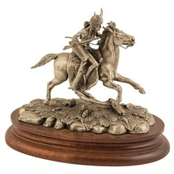 Renegade by Don Polland (Pewter Sculpture)