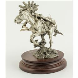 Circling the Enemy by Michael Boyett (Pewter Sculpture)