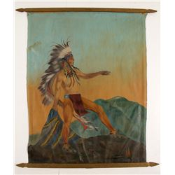 Native American Painting by Nellie York