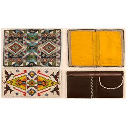 Two Beaded Wallets