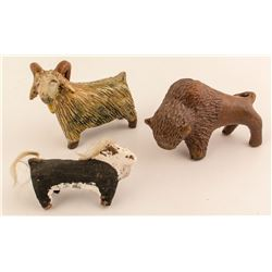 Navajo Folk Art Animals
