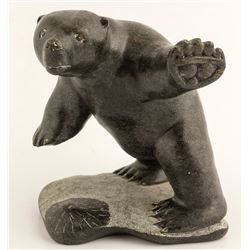 Polar Bear Sculpture, Levi Alasuak