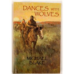 Dances With Wolves Hardcover, Signed by Michael Blake