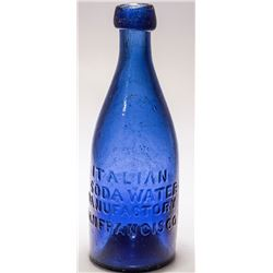 Italian Soda Bottle, San Francisco, California