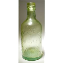 Washington Lithia Well Mineral Water Bottle