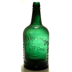 Emerald Congress & Empire Spring Water Bottle