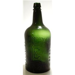 Emerald Green Congress & Empire Spring Water Bottle