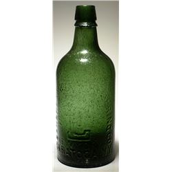Congress & Empire Spring Co. Mineral Water Bottle