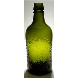 Lime Congress & Empire Mineral Water Bottle