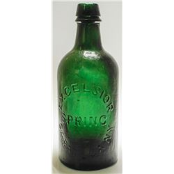 Excelsior Spring Mineral Water Bottle