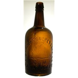 Highrock Congress Springs Water Bottle, Small 1767