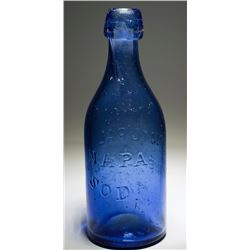 Napa Soda, Natural Mineral Water Bottle