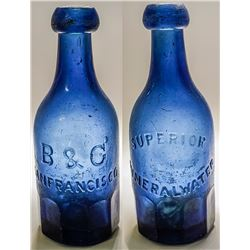 B & G Mineral Water