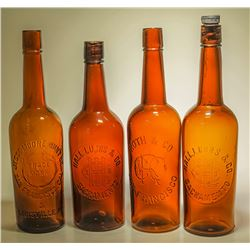 4 California Amber Whiskeys