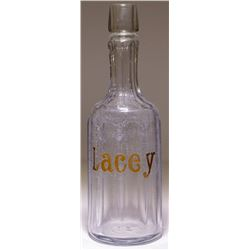 Lacey Whiskey Back Bar Bottle