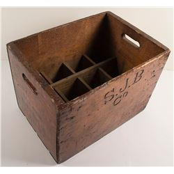 San Jose Bottling Co. Wooden Crate