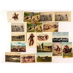 On the Trail Cowboy Postcard Collection