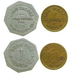 Mother Lode Tokens (Grass Valley & Amador City)
