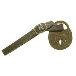 White House Lock, Bryan Holds the Key 1908 Campaign FOB