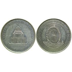 Columbian Exposition, World's Fair So-Called Dollar (HK 170)