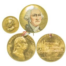 Two George Washington Medals