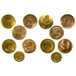 Six Copper Israeli Medals