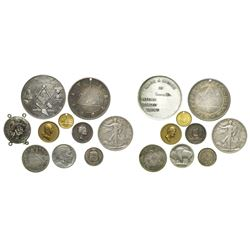 Diverse lot of coins and medals