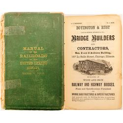 Manual of Railroads of the US 1870-71