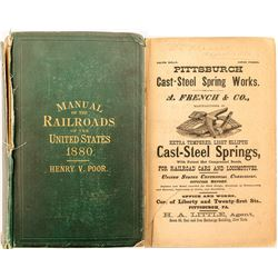 Manual of Railroads of the US 1880