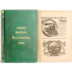 Manual of Railroads of the US 1886