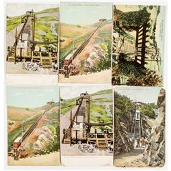 Catalina Island Inclined Railroad Postcards