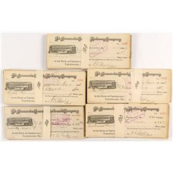 St. Francois County Railway Company Check Collection