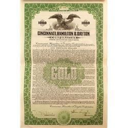 Cincinnati, Hamilton & Dayton Corporation Bond (1926)